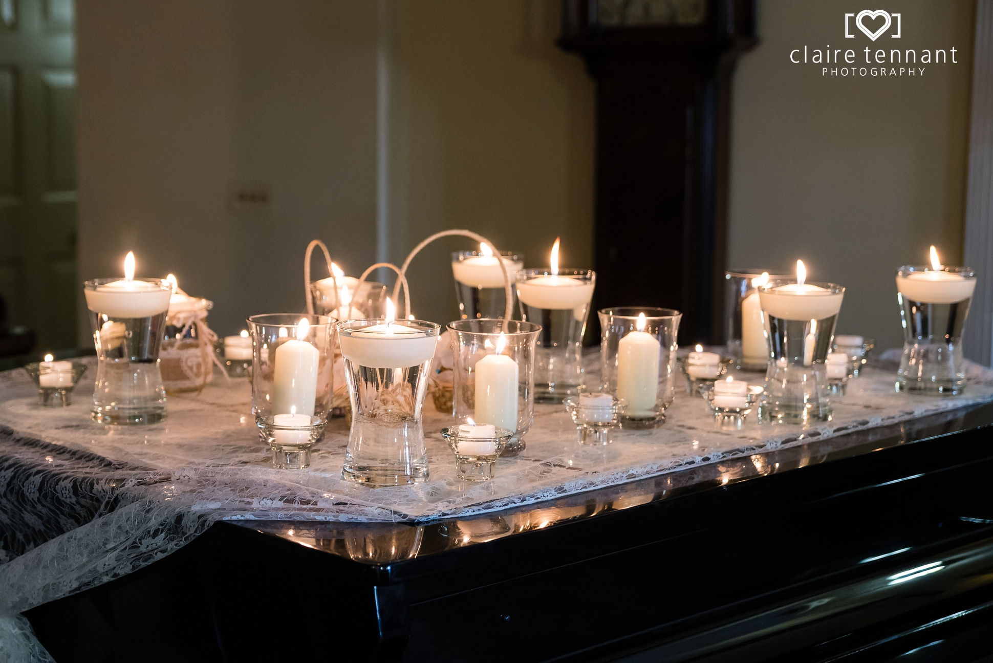 Archerfield Mansion House candles