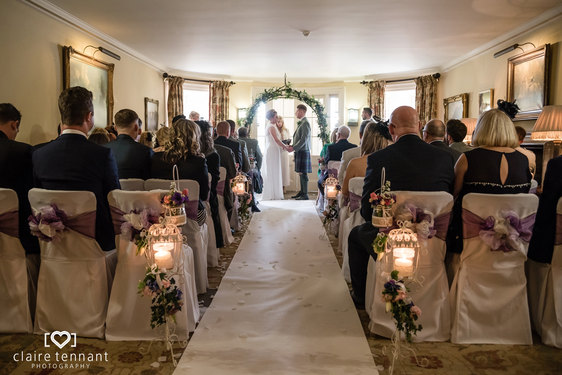 Archerfield Mansion House wedding ceremony