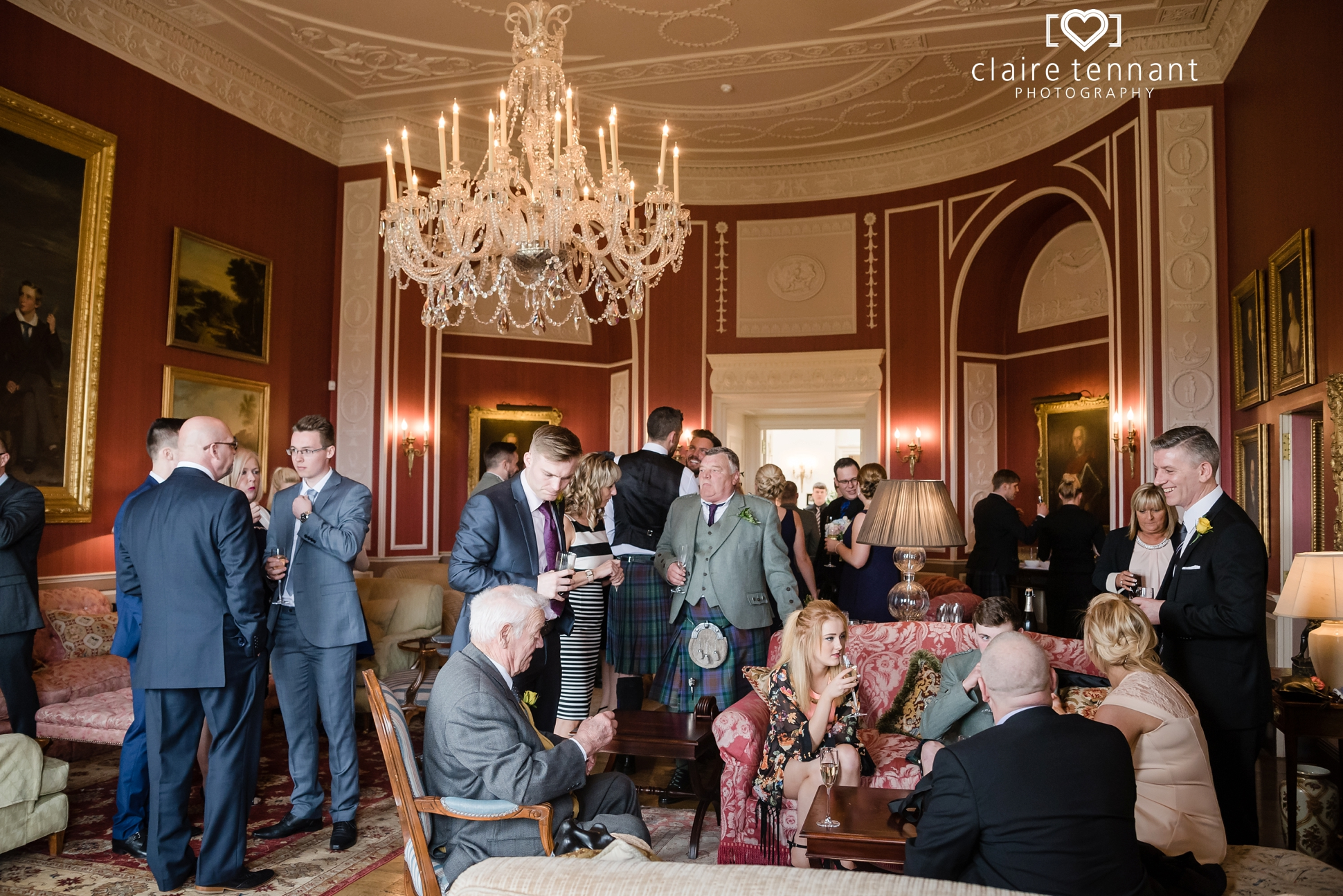 Archerfield Mansion House drinks reception