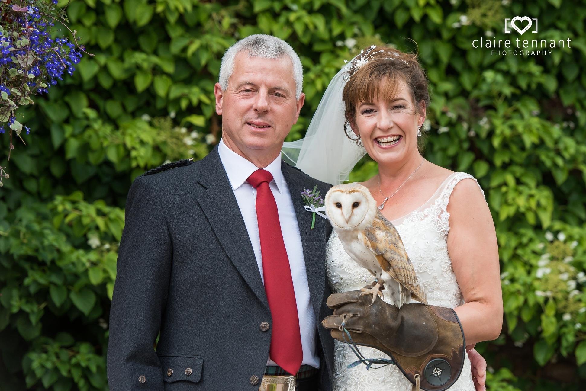 Cringletie House owl