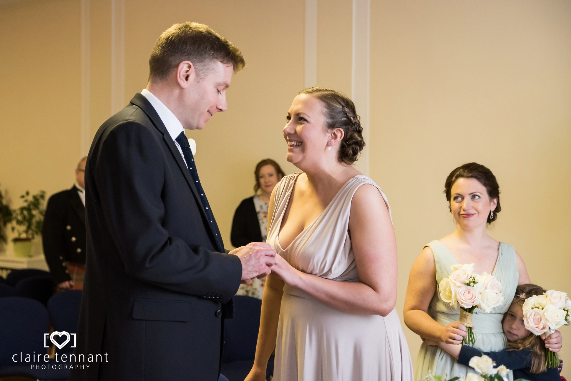 Leith Registry Office ceremony