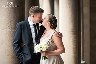 Leith Registry Office wedding