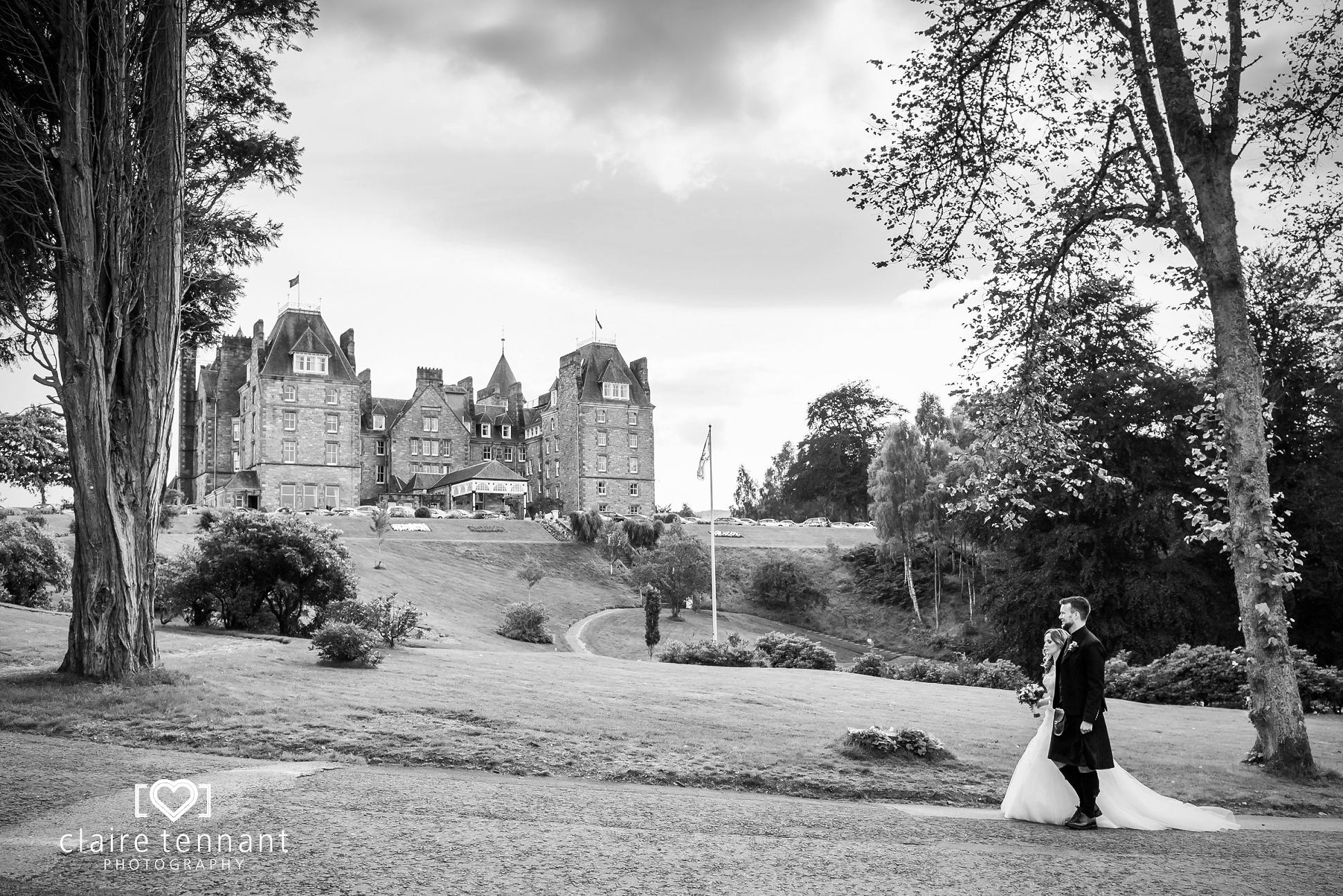 Atholl Palace Hotel wedding