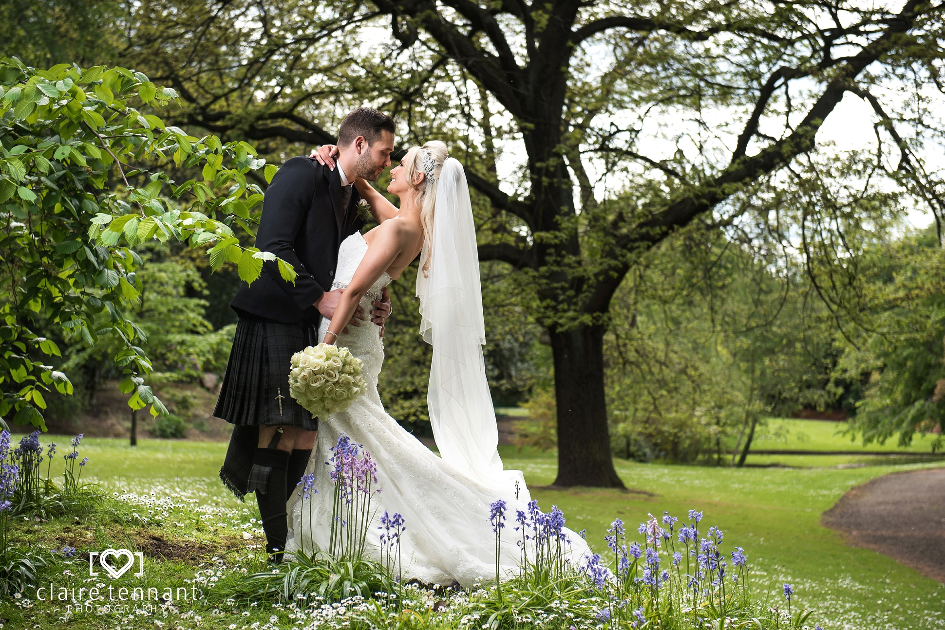 Romantic Edinburgh Principal Hotel Wedding Photography