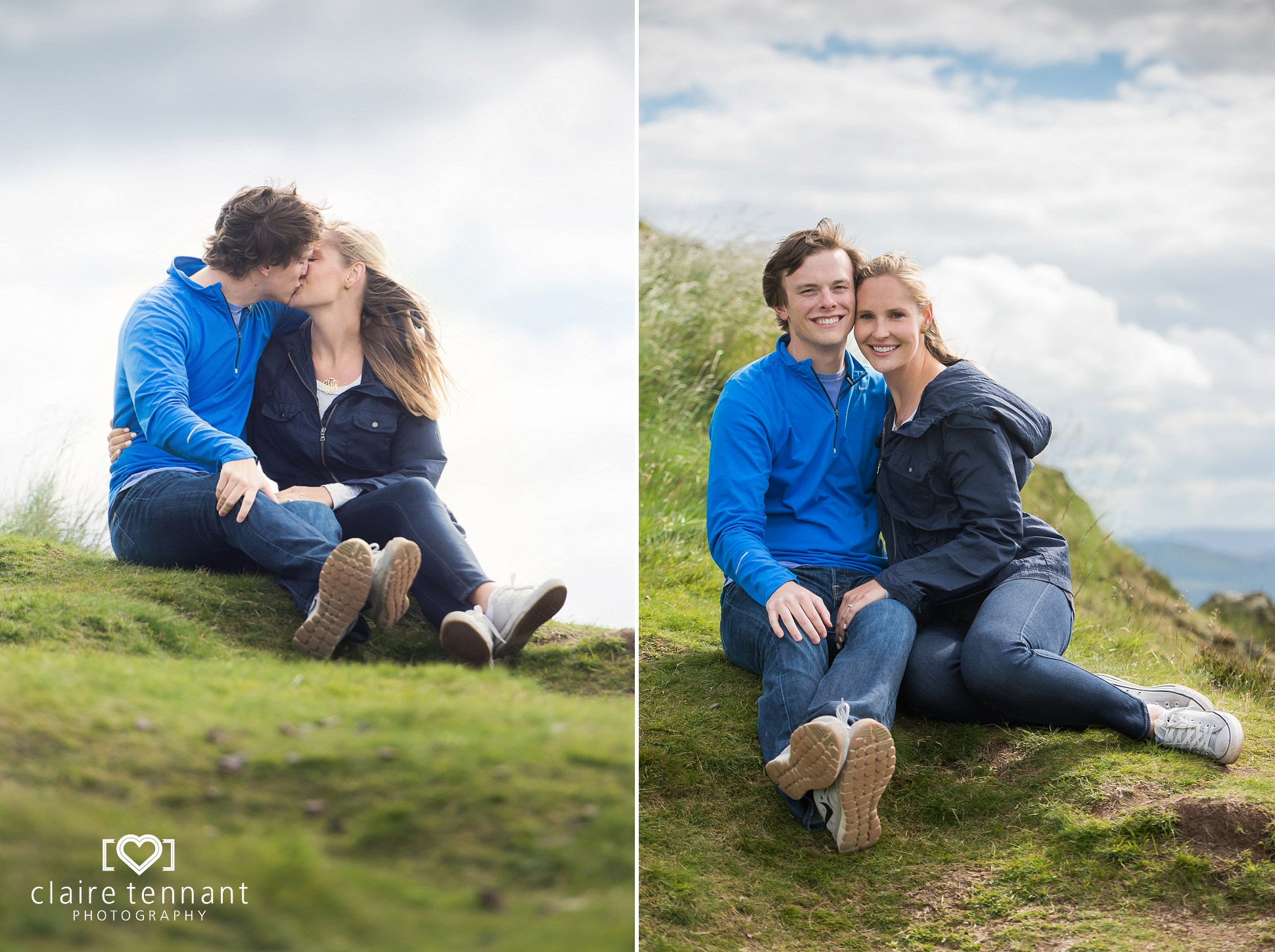 Edinburgh proposal photography