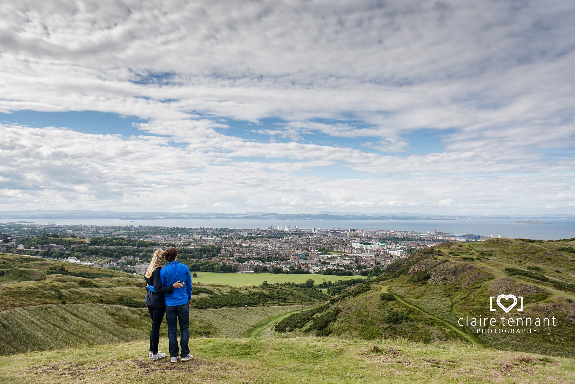 Edinburgh proposal photography views