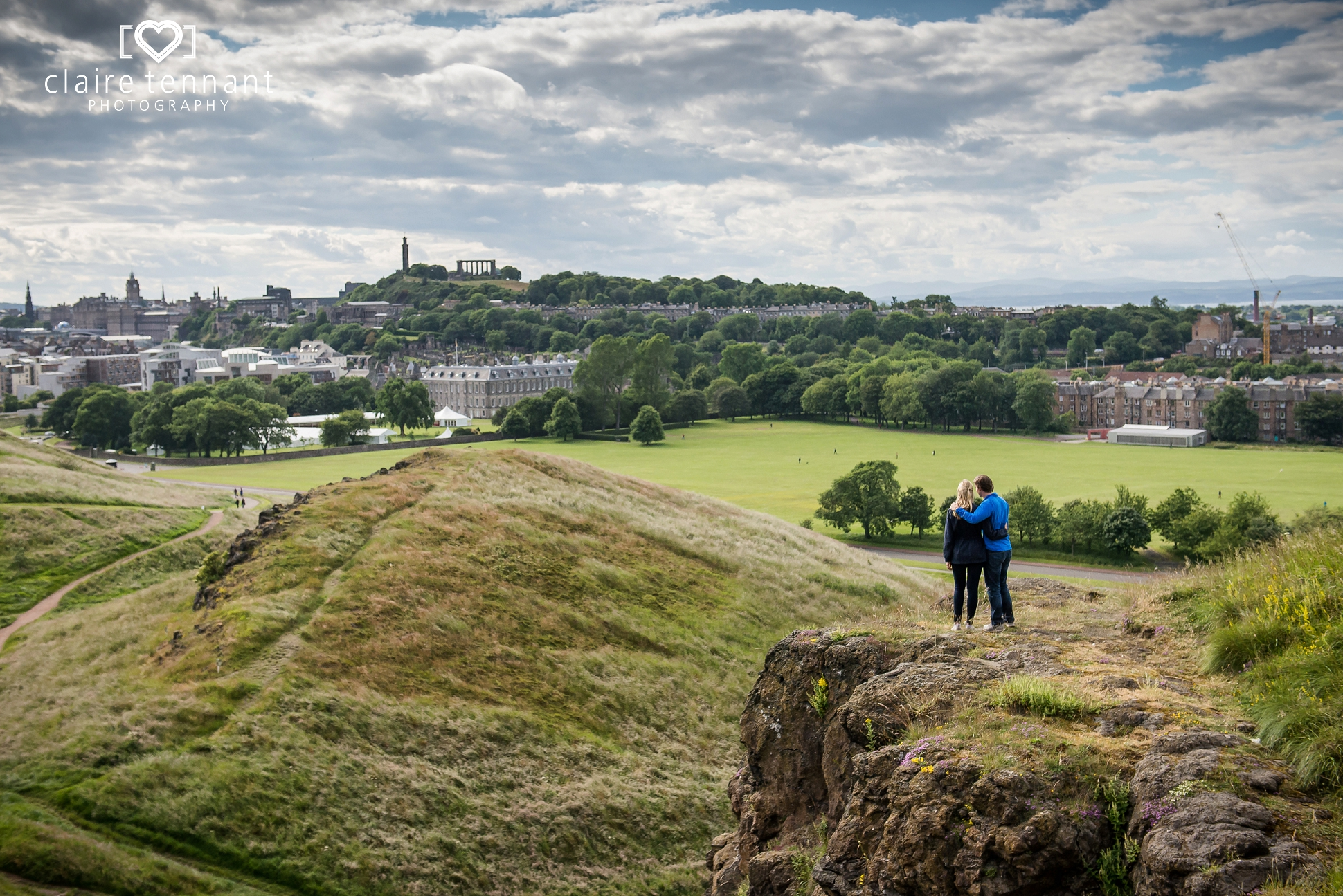 Edinburgh pre-wedding photography