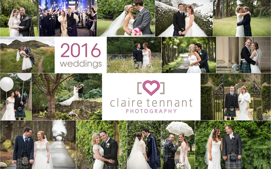2016 Wedding Photography Highlights