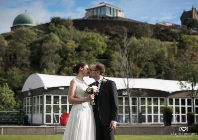 Outdoor Wedding at the Glasshouse