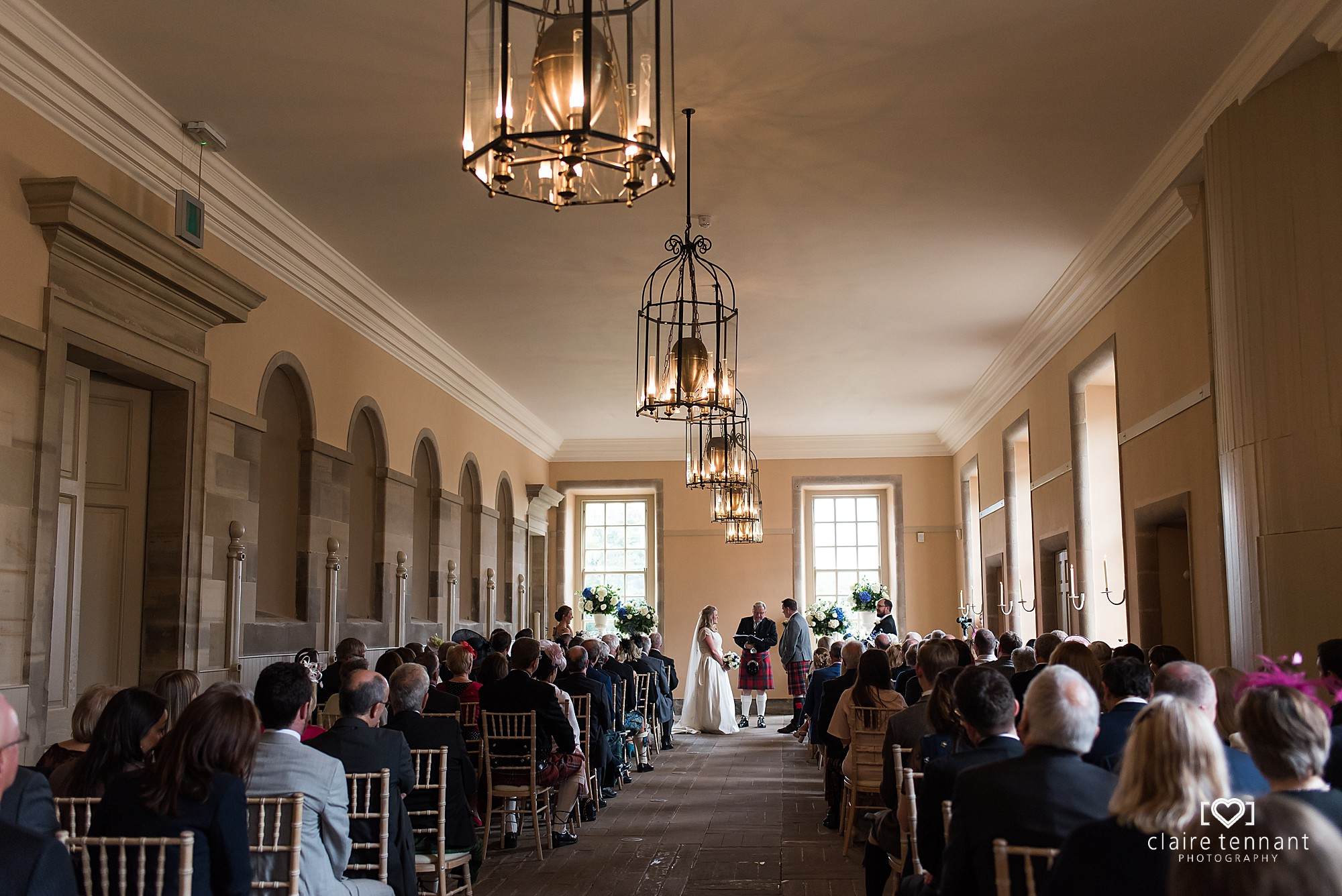 Hopetoun House Wedding Ceremoy