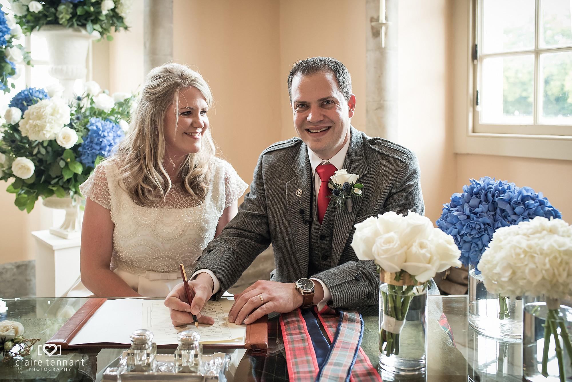 Hopetoun House Wedding Ceremony