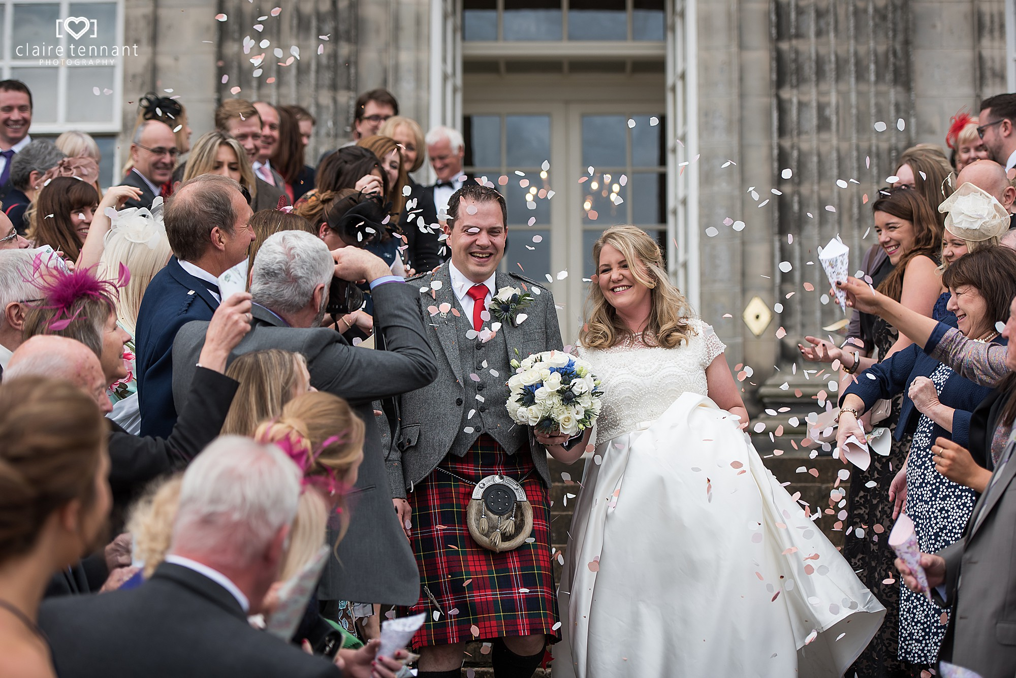Hopetoun House Wedding Confetti