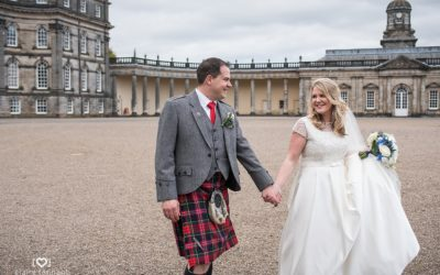Beautiful Hopetoun House Wedding
