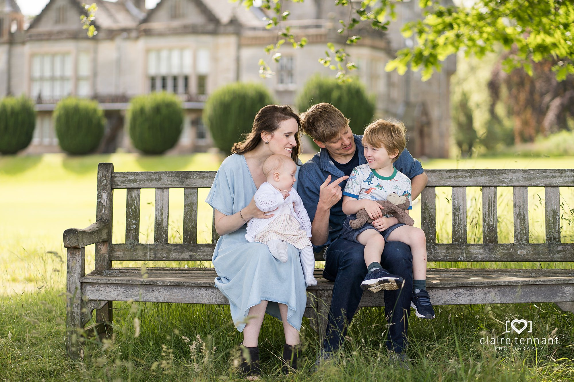 Relaxed Family Photography at Lauriston Castle Edinburgh