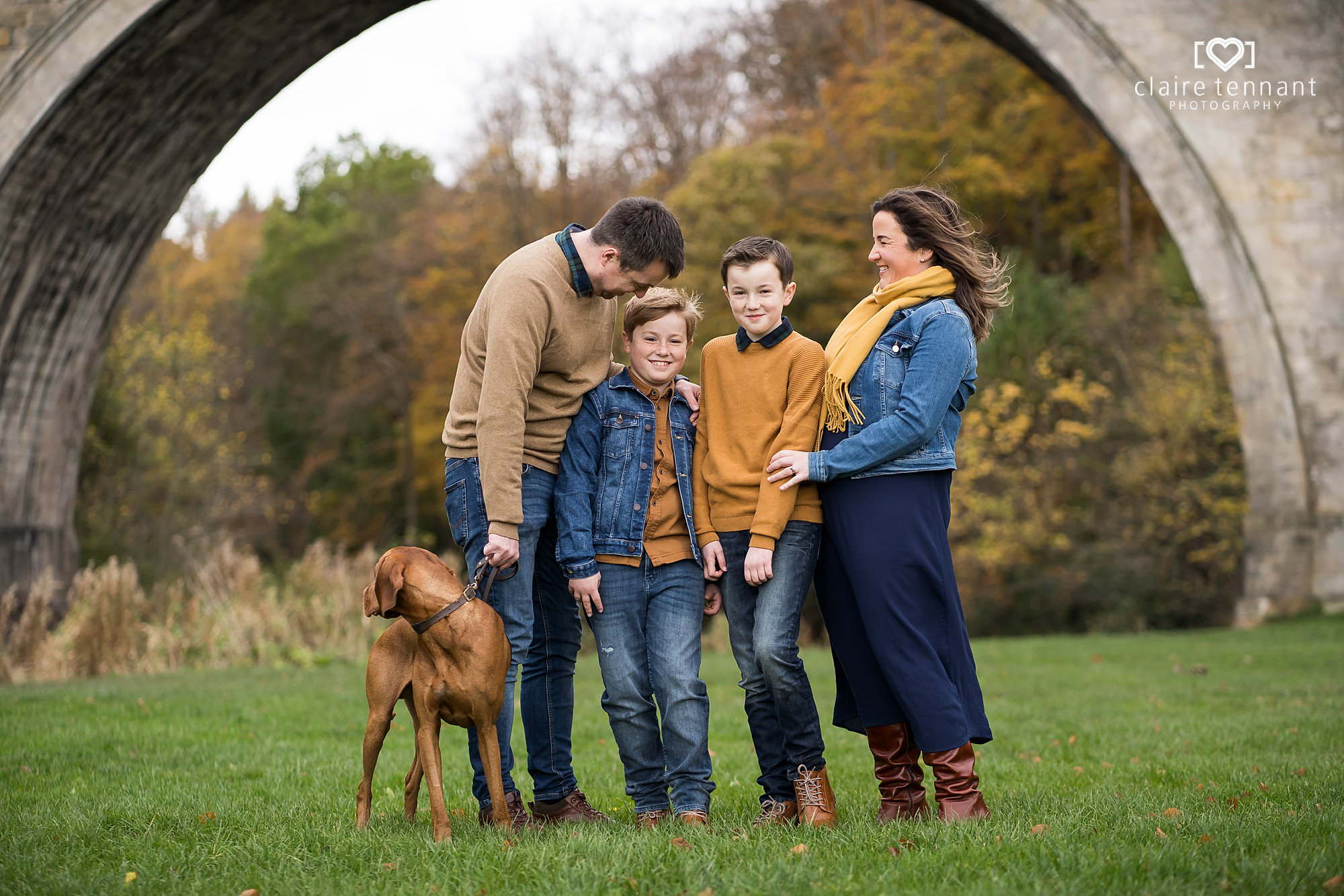 natural family shoot in Midlothian