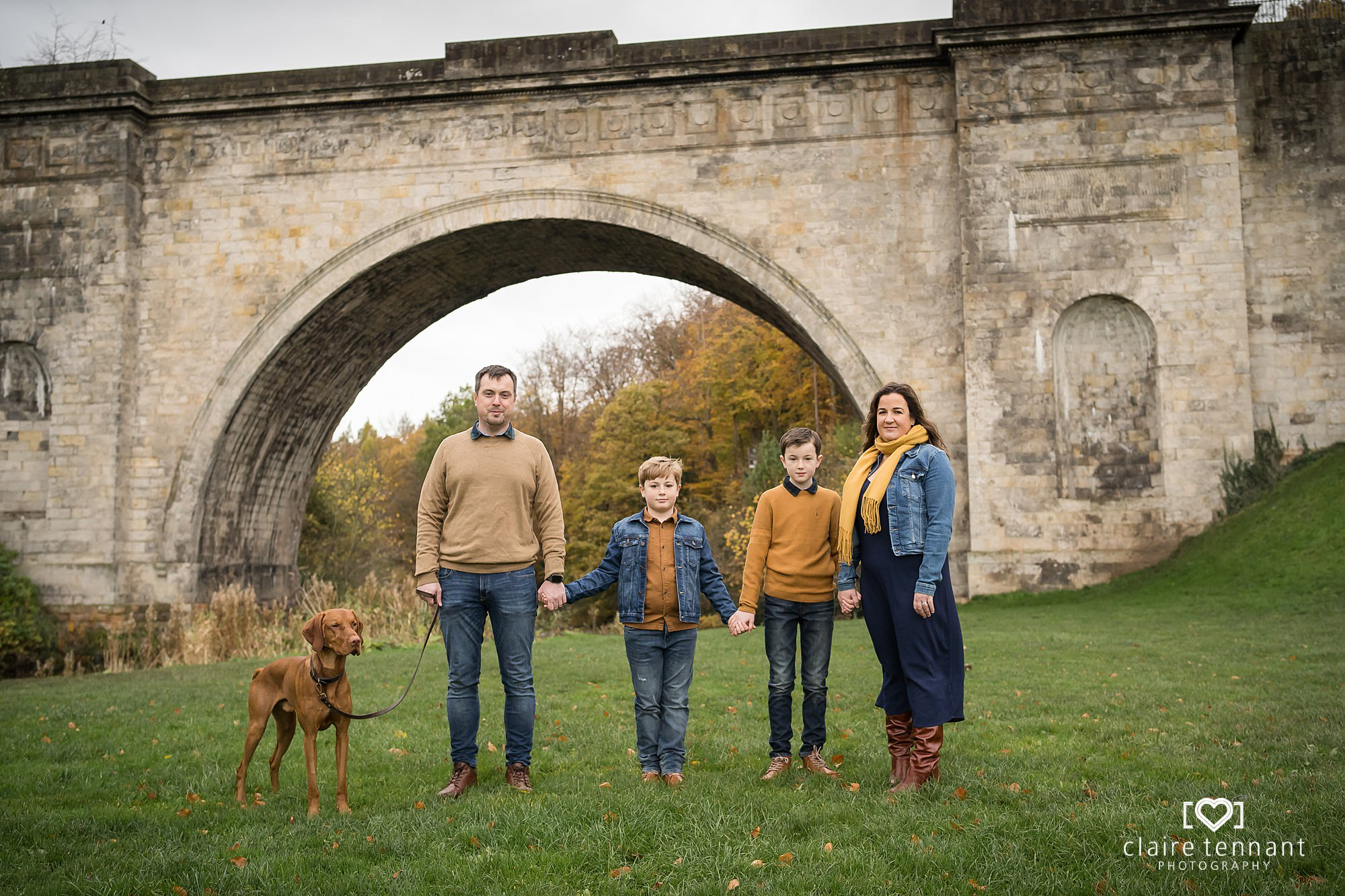 Autumnal family shoot