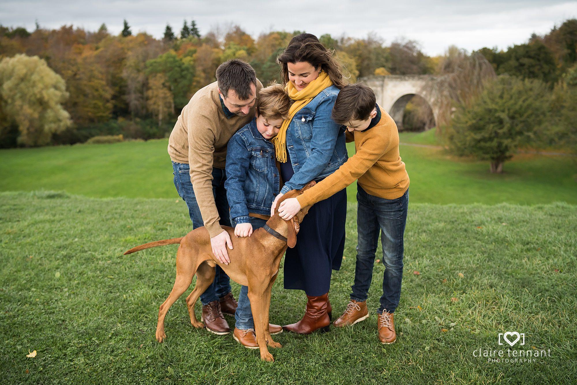 natural family shoot edinburgh