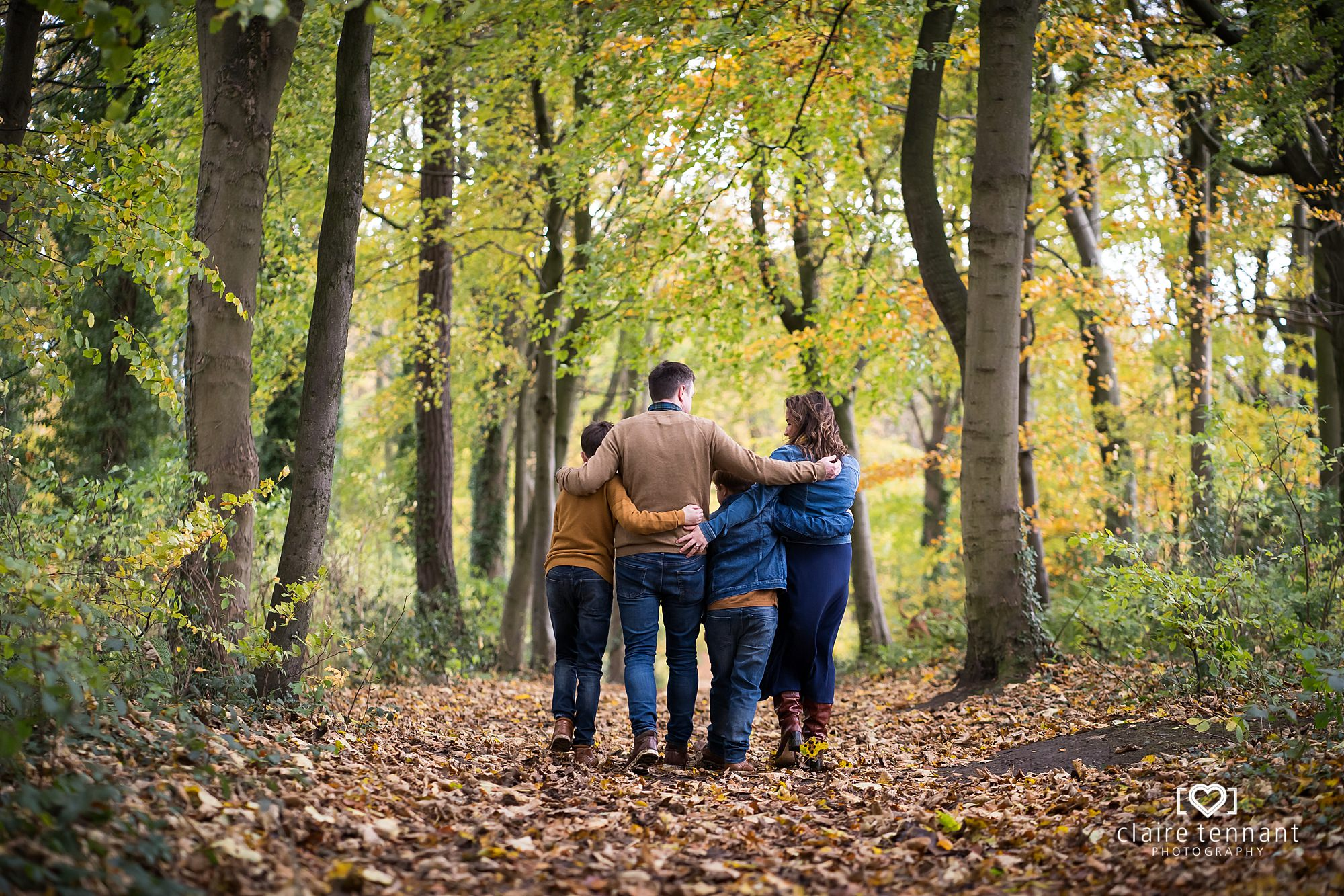 Autumn family shoot midlothian