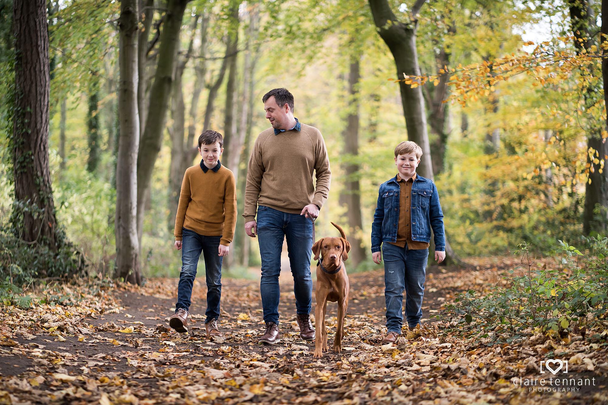 family shoot midlothian