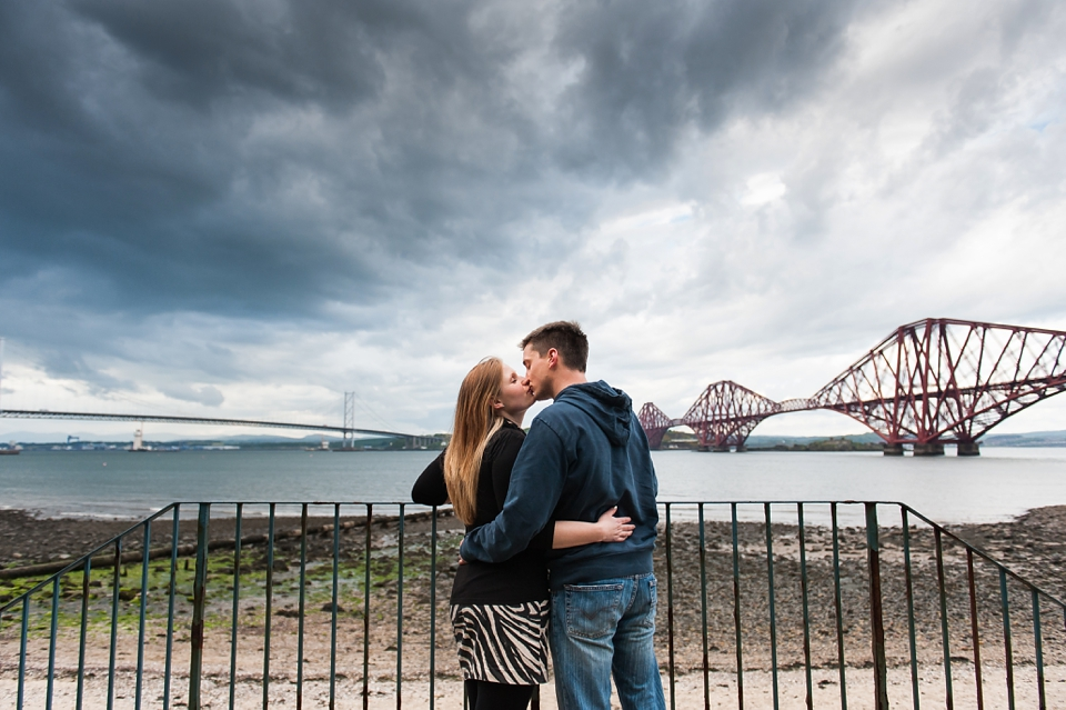 South Queensferry pre-wedding shoot