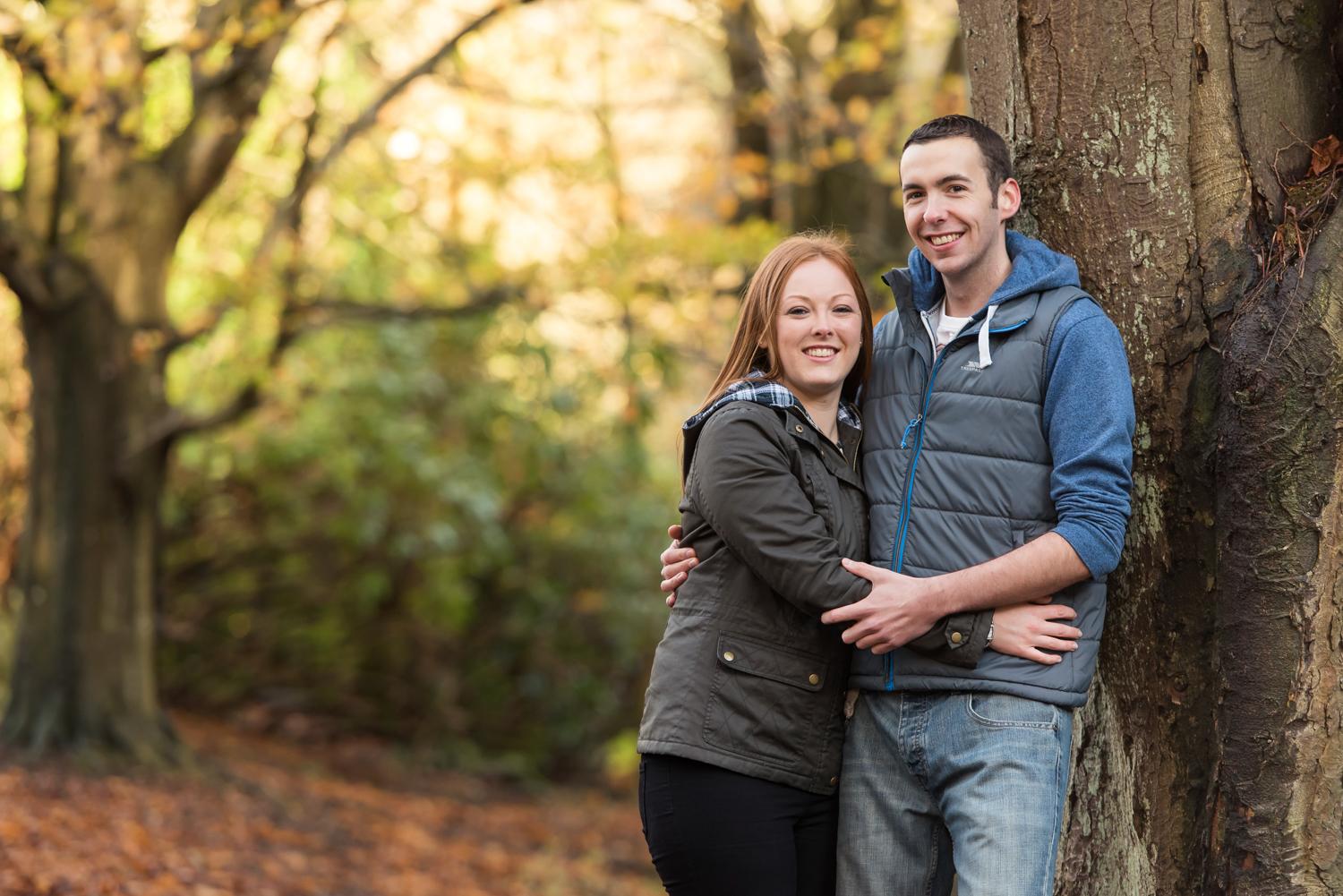 West Lothian Pre-Wedding Shoot at Almondell