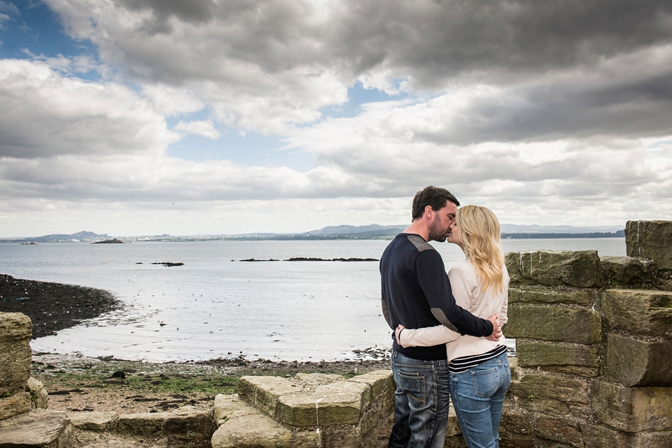 Inchcolm Island pre-wedding photography