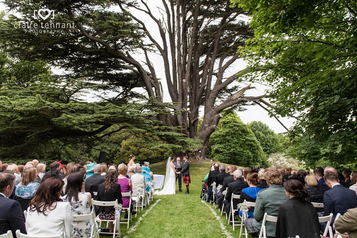 Beautiful Summer Wedding at Broxmouth Park