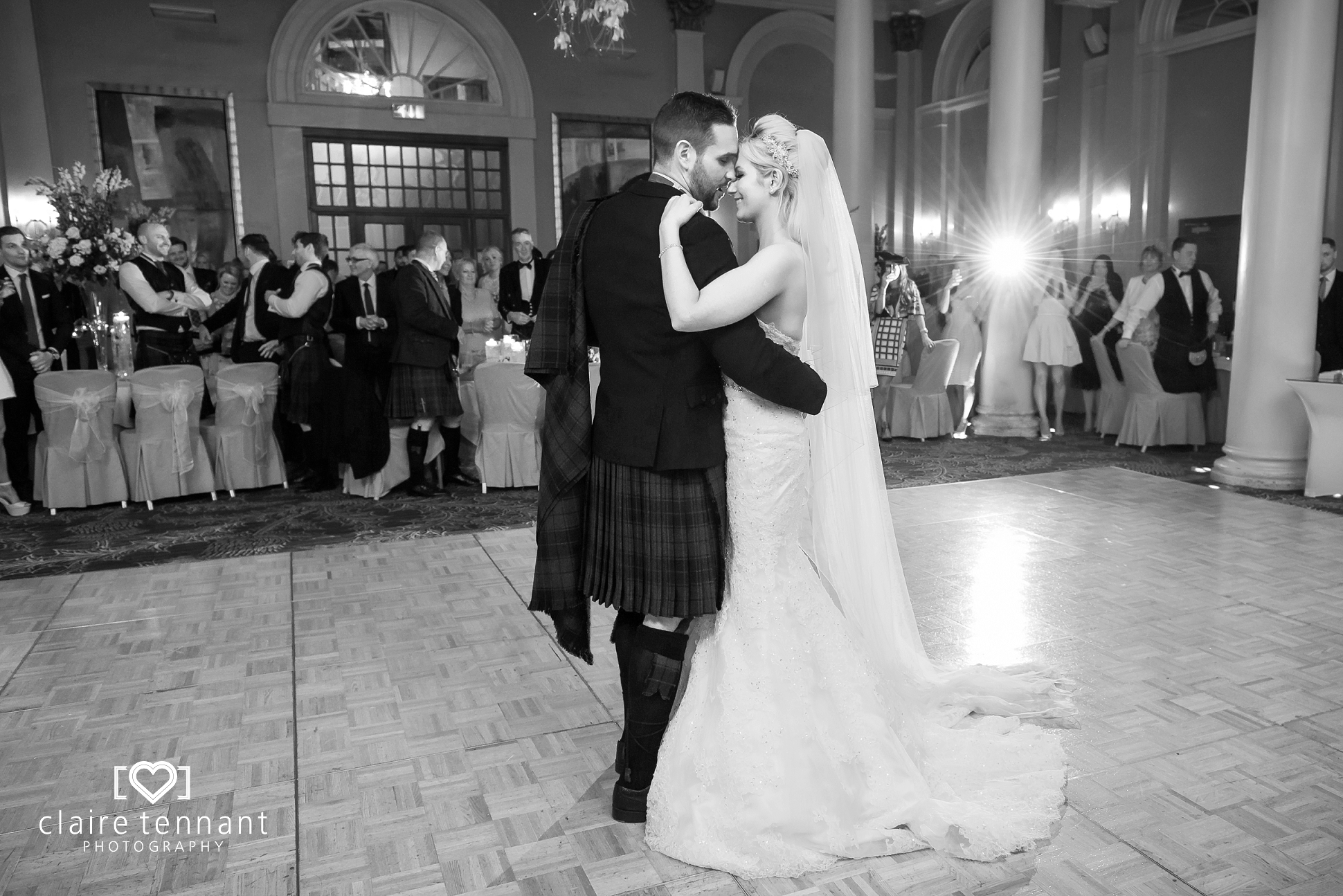 Edinburgh George Hotel wedding