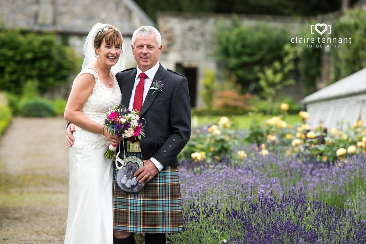 Cringletie House wedding photography