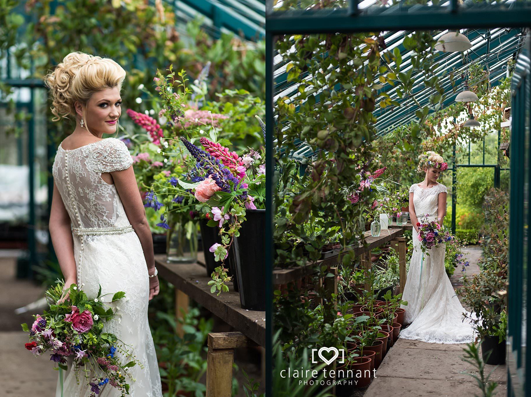glamorous wedding styled shoot