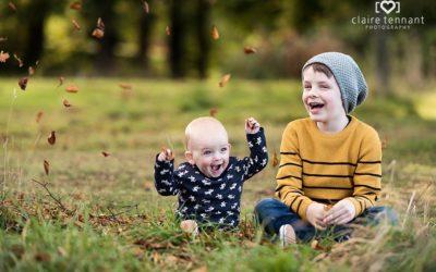 Autumn Family Photography Session in Edinburgh