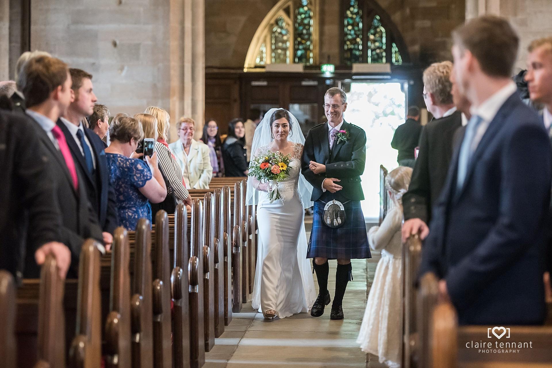 St Michael's Wedding ceremony