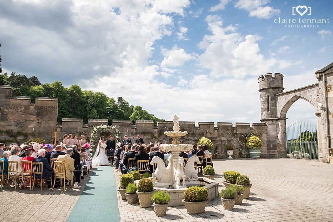 Summer outdoor wedding at Dundas Castle_0001