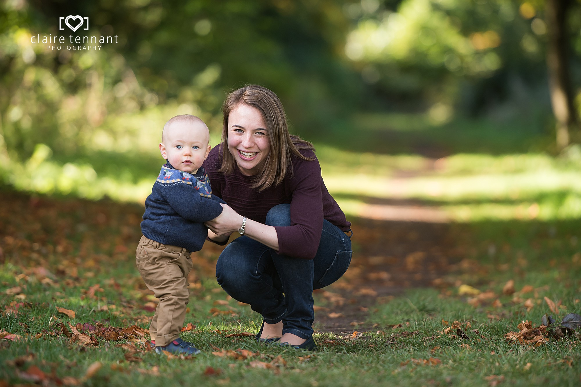 mum and toddler photo session
