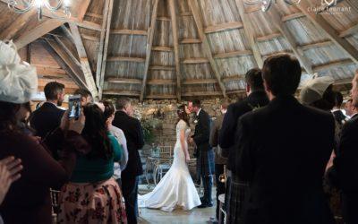 Stunning Autumn Wedding at The Barn at Harburn