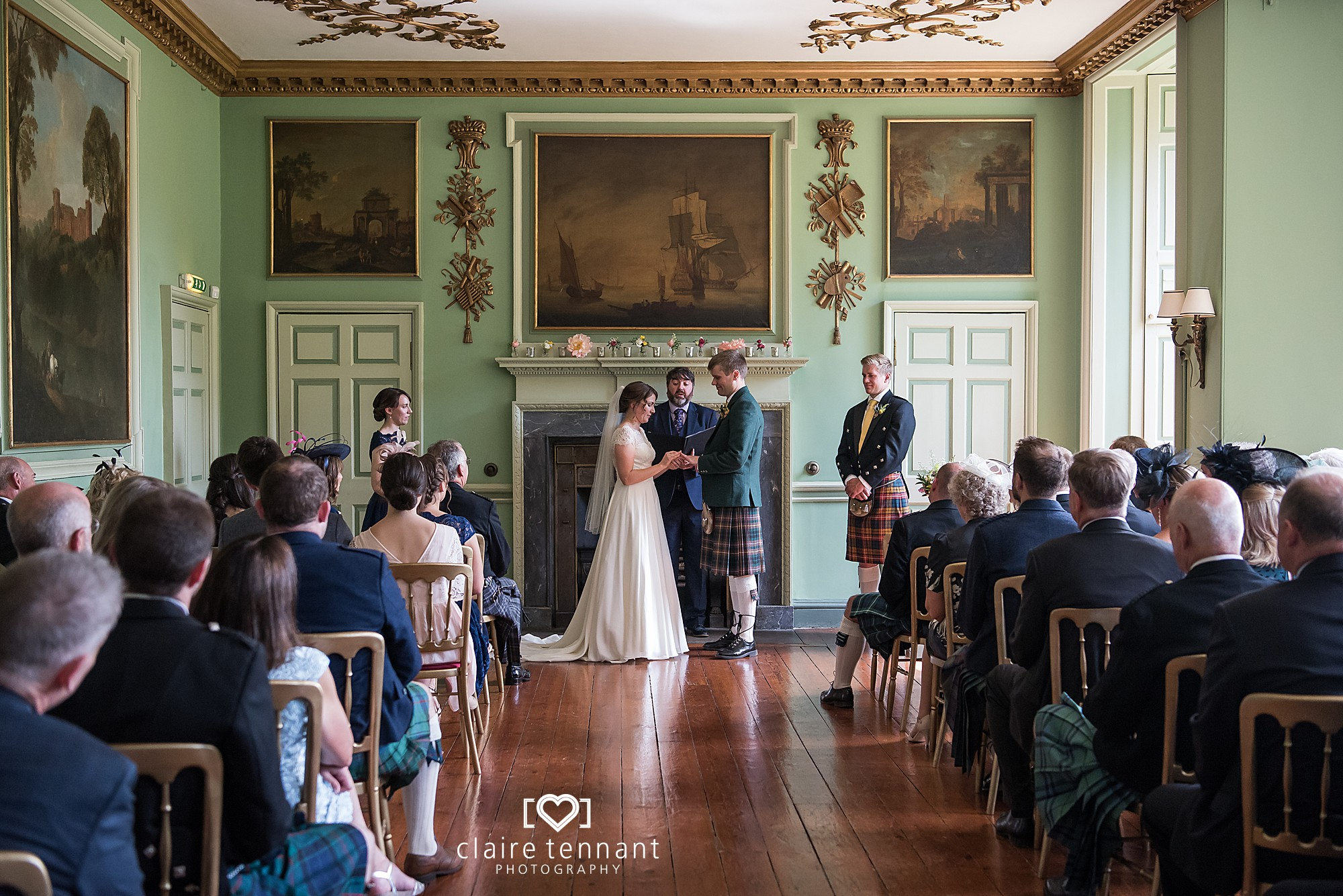 Oxenfoord Castle wedding